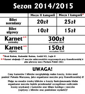 Cennik 2014 2015 2